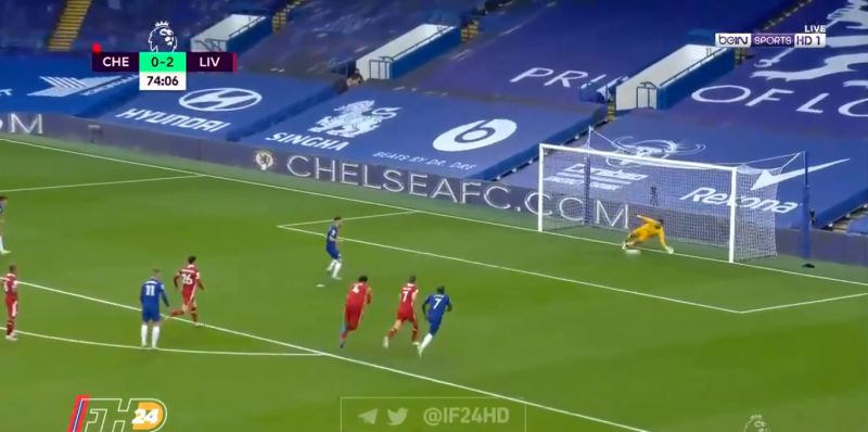 (Video) Alisson denies Chelsea's Jorginho with first ever Liverpool penalty save