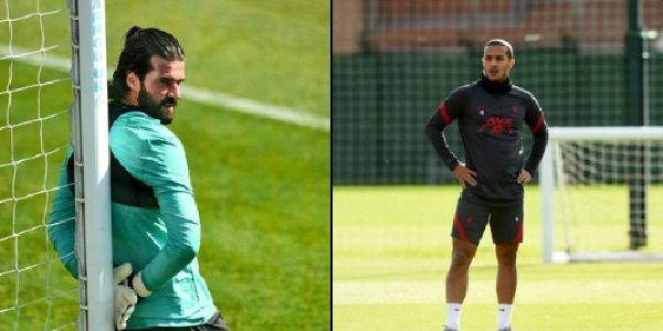 Alisson & Thiago could miss Arsenal clash after worrying fitness update