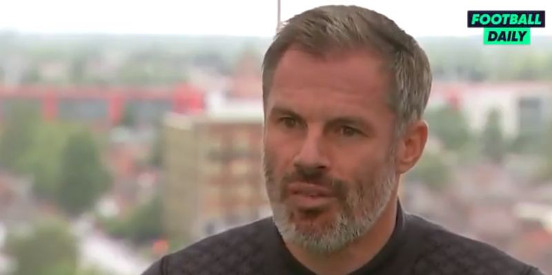 "(Video) Liverpool ""need a little bit of freshness added"", according to Jamie Carragher"