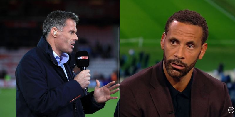 Carragher & Ferdinand agree Man City & Chelsea won't catch Liverpool in 2020/21