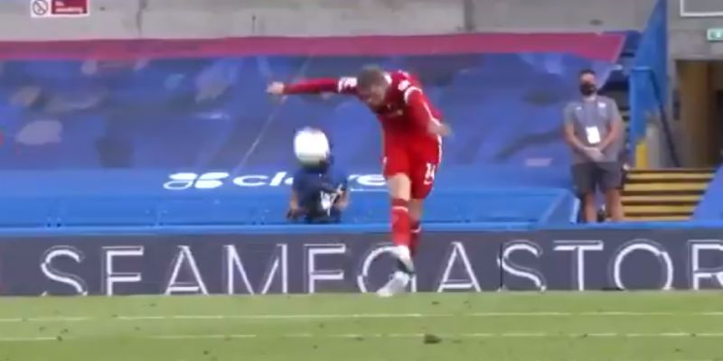 (Video) Previously unseen clip shows Henderson's tactical understanding is spot on