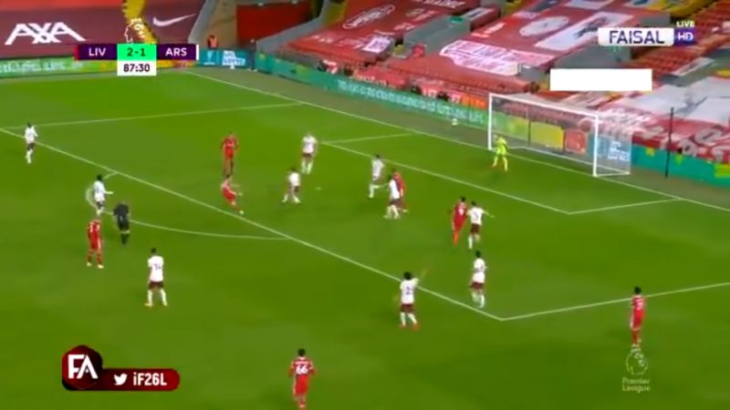 (Video) Jota bags on Anfield debut v. Arsenal with precise half-volleyed finish