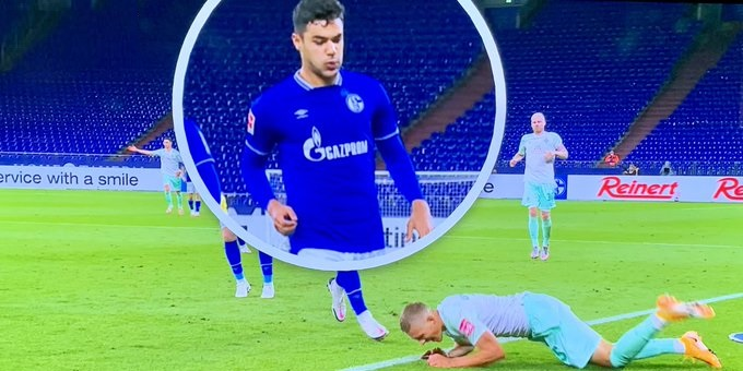 How Ozan Kabak explained 'accidental' spitting incident that saw him banned for 5 Bundesliga games