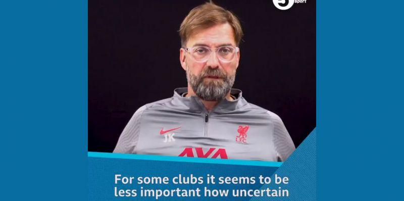 (Video) Jurgen Klopp defends FSG for LFC's caution in the transfer market