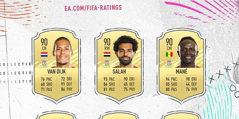(Images) LFC's highest rated players on FIFA 21 dropped, with one star getting a huge boost