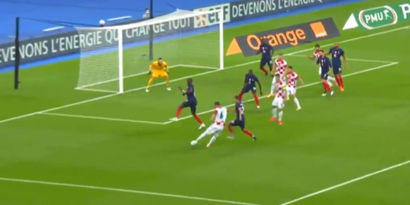 (Video) Lovren scores his best goal ever with Baggio-esque turn & powerful finish