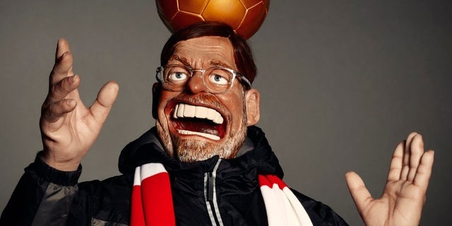 (Image) Jurgen Klopp puppet for Spitting Image TV show is absolute nightmare fuel