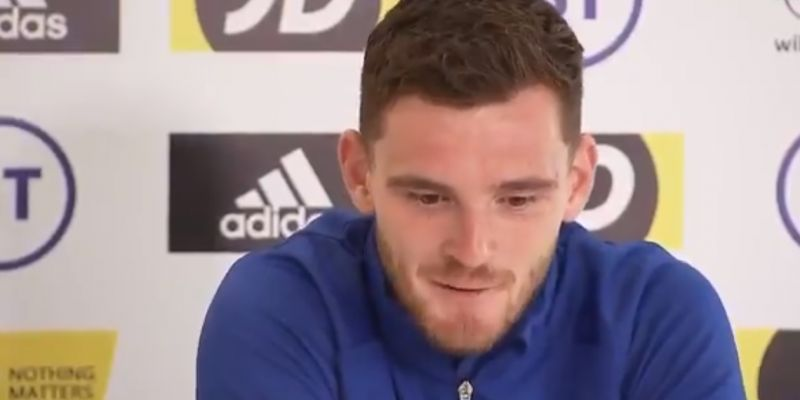 "(Video) Robbo says there's still time to ""fix"" LFC's season & makes injury admission"