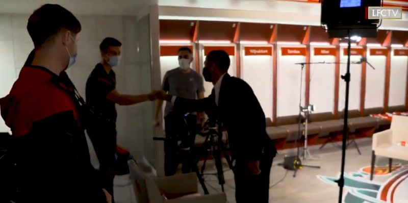 (Video) Go behind-the-scenes of Thiago's first day as a Liverpool player with incredible footage