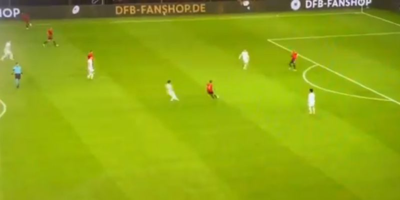 (Video) Thiago pulls off skilful long-rage pass which will leave LFC fans drooling