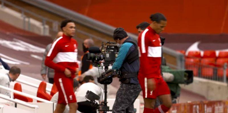(Video) Liverpool stars look very sharp in smart new Nike pre-match gear