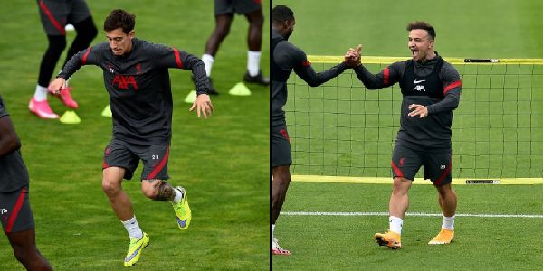 (Photos) Tsimikas & Shaqiri snapped as Liverpool duo resume training at Melwood