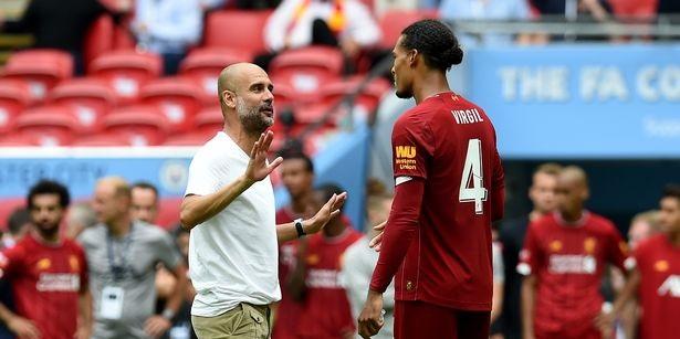 Pep Guardiola sends Virgil van Dijk classy message after devastating ACL injury