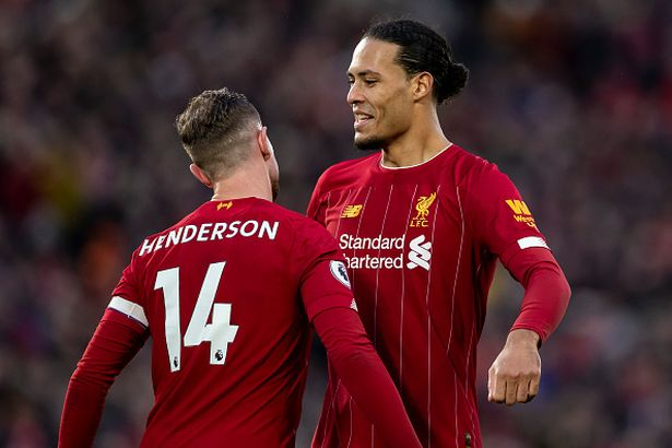 Henderson and van Dijk react to Liverpool's storming 3-0 win over Arsenal