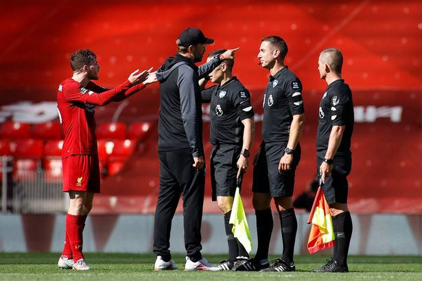 (Video) When Andy Robertson destroyed David Coote – 'What's the point in having you in the middle?'