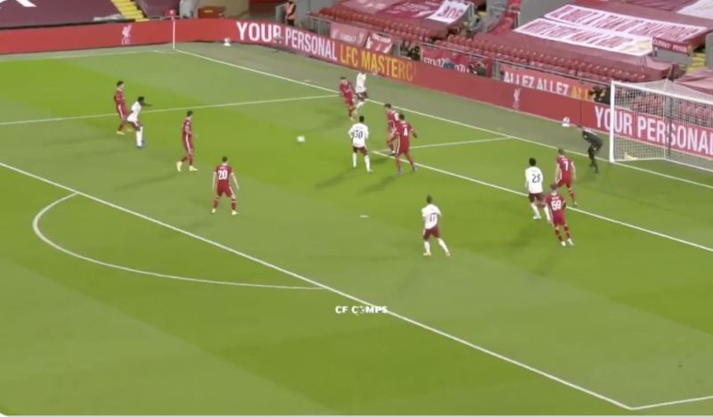 (Video) Rhys Williams' excellent performance v Arsenal: Young CB looks assured, clever and strong