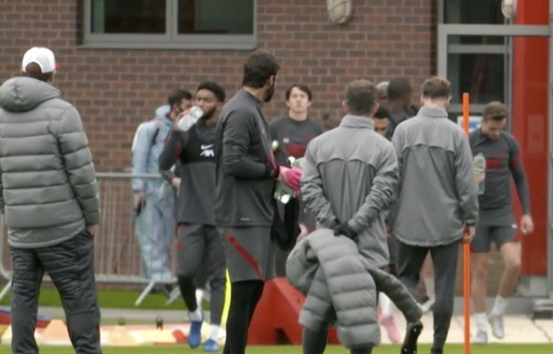 (Image) New Liverpool signing spotted at Melwood before club announcement