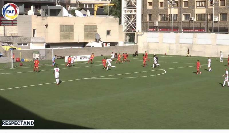 (Video) Curtis Jones skins two defenders and plays perfect pass for England U21 assist v Andorra