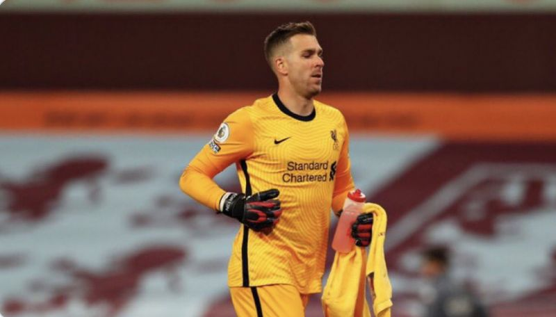 Adrian's tweet hints at surprise start for Liverpool in Champions League after Alisson misses training
