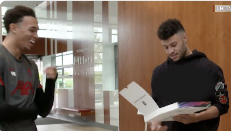 (Video) 'I'm the lowest in this entire building…' Ox rightly fuming at FIFA 21 rating