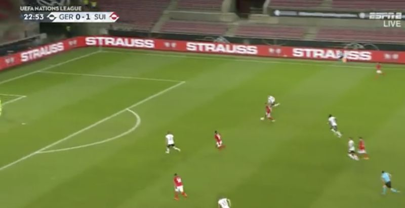 (Video) Shaqiri showcases wonderful touch for Switzerland in 3-3 classic v Germany