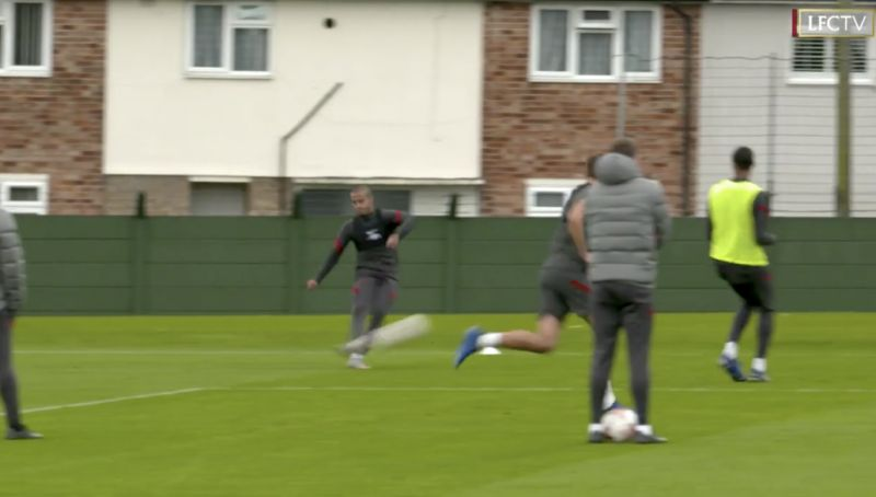 (Video) Thiago & Harvey Elliott run small-sided game at Melwood in brilliant footage