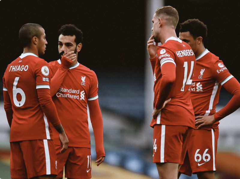 (Image) Confirmed Liverpool team news as Thiago starts; shock inclusion in defence