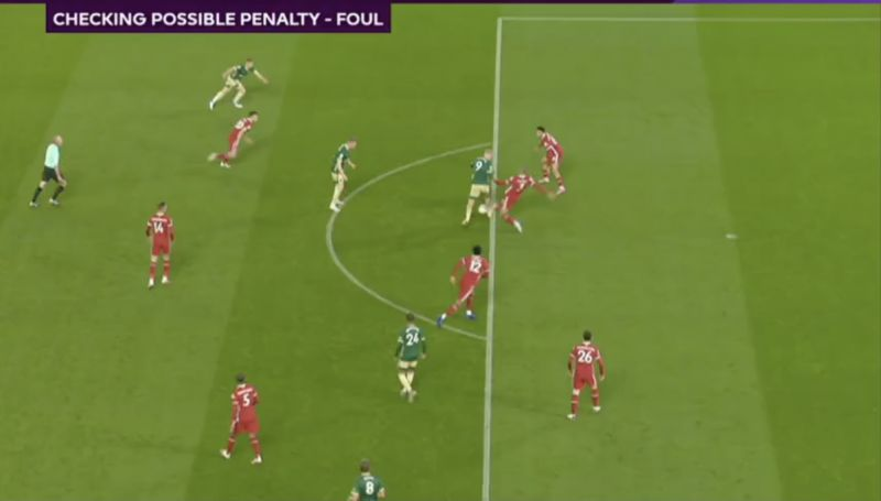 (Video) Shocking: Liverpool yet again stitched by awful refereeing with ridiculous penalty