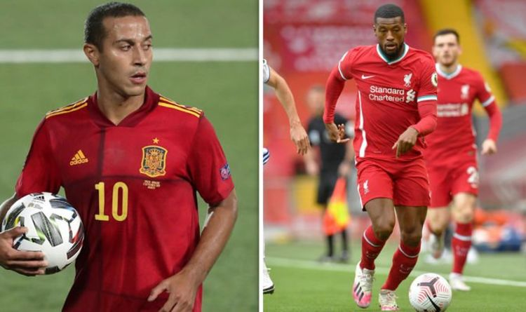 Wijnaldum loves 'unbelievable' midfield rival Thiago: 'I think it's a perfect match: Liverpool and Thiago'