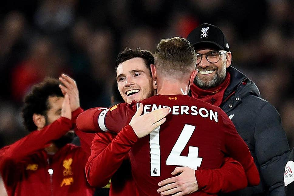 Liverpool expect Henderson and Robertson to be fit for Leicester City clash – report