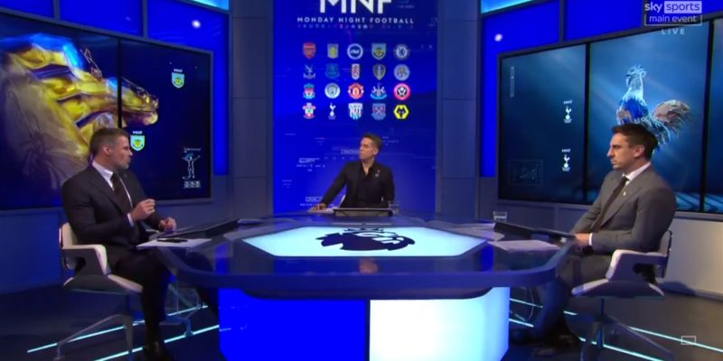 (Video) Neville suggests Spurs star would succeed at Liverpool & Carragher agrees