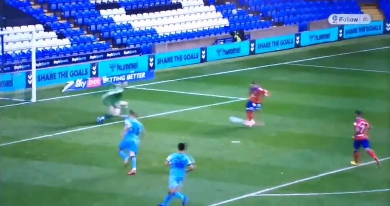 (Video) Harvey Elliott bags first pro goal with tidy chip & drops interesting celebration