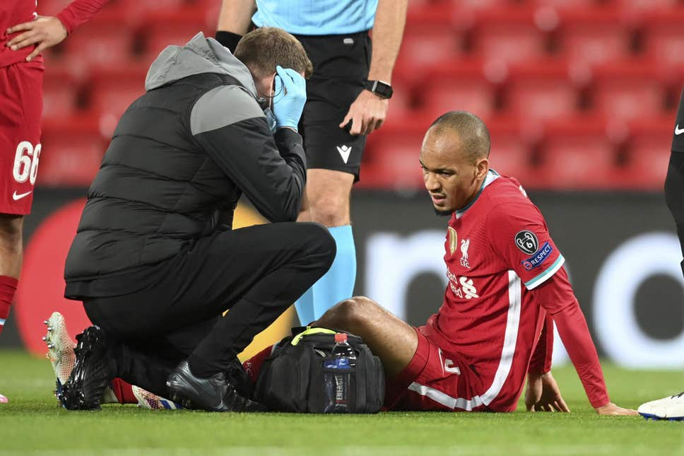 (Image) This graph depicting Liverpool's injury crisis is shocking