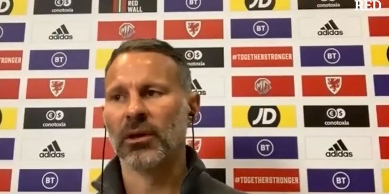 "(Video) United legend Giggs labels Liverpool a ""fantastic club"" and lauds Klopp"