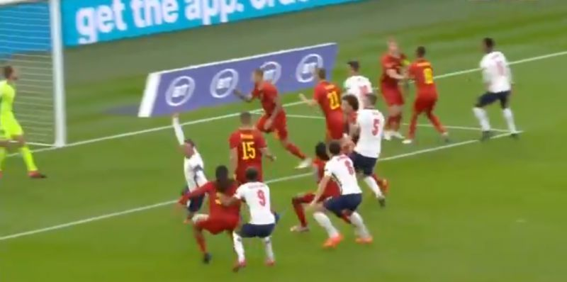 (Video) Henderson involved in controversial England penalty call as midfielder dragged