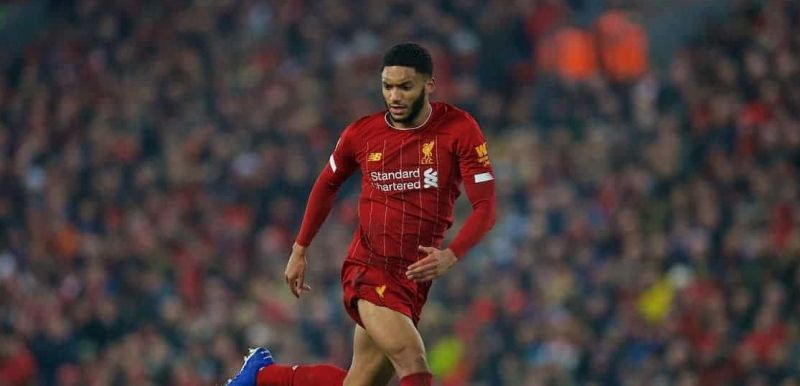 Joe Gomez named as quickest centre-half from last season's Champions League