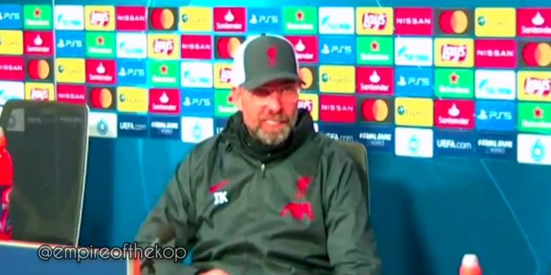 (Video) Klopp buzzing over new rule which enables him to tinker with his squad even more