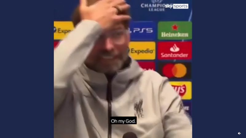 "(Video) ""I'm not sure if you're a journalist"": Klopp destroys reporter for stupid question"