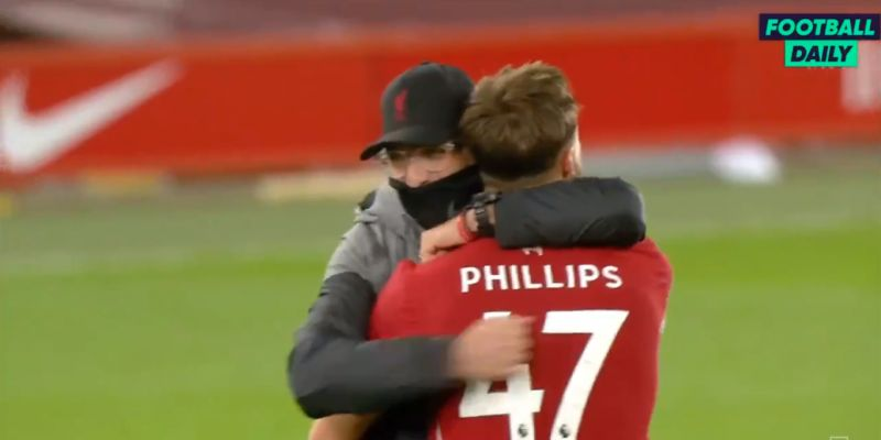 'He's not Messi, but who cares?' Klopp's hilarious analysis of Nat Phillips will make Reds smile