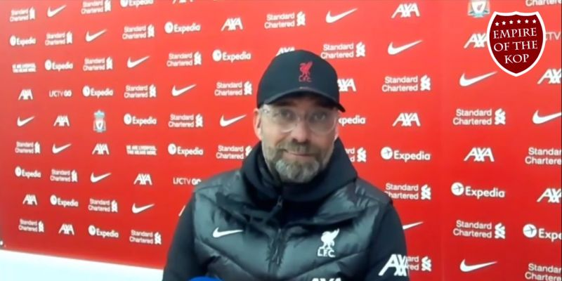 (Video) Jurgen Klopp bashes Premier League referees after tight 2-1 win at Anfield