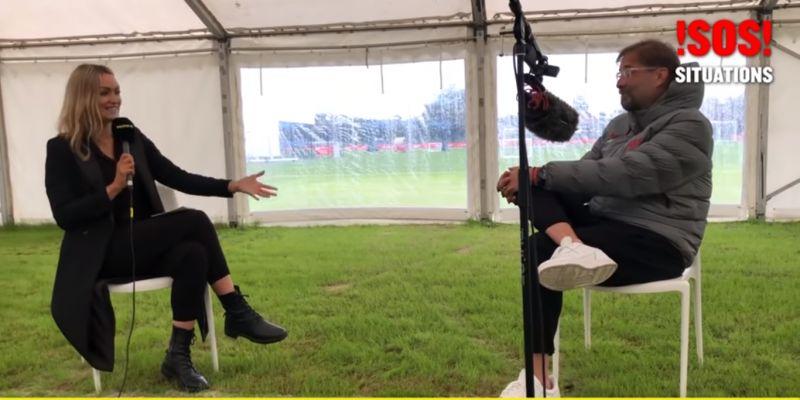 "(Video) Liverpool boss Jurgen Klopp admits he's on social media but uses ""secret name"""