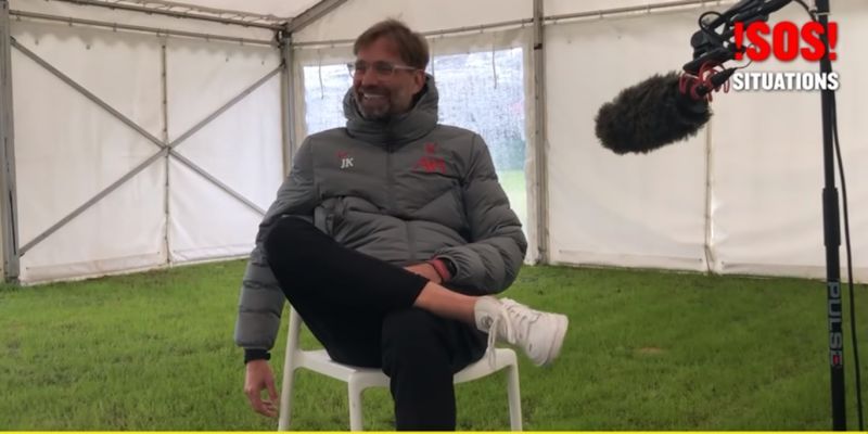 (Video) Jurgen Klopp reveals which player should be Liverpool manager