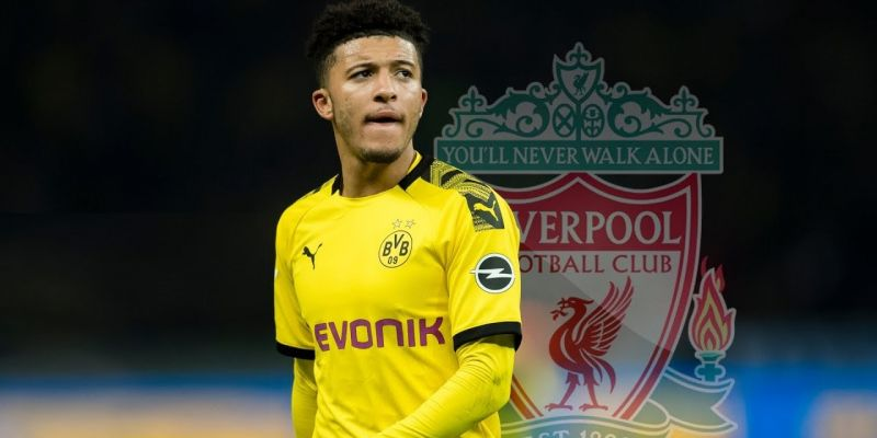 Jadon Sancho remains a Liverpool target, but there's a likely condition