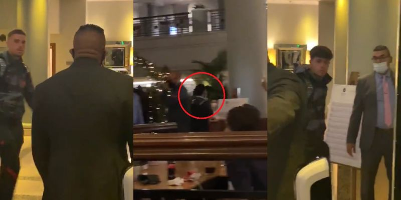 (Video) Salah spotting travelling with Liverpool squad, denouncing COVID-19 rumours