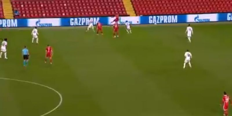 (Video) Unreal: Trent plays swerving long-range pass on the volley in glorious unseen moment