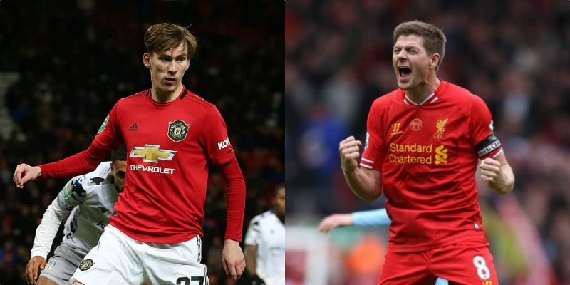 Manchester United player admits Liverpool legend Steven Gerrard is his idol
