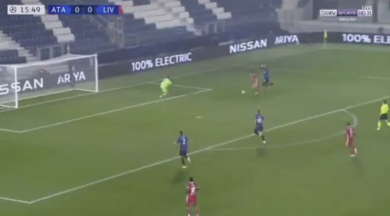 (Video) Diogo Jota is incredible: Portuguese scores 'exquisite finish' v Atalanta early on