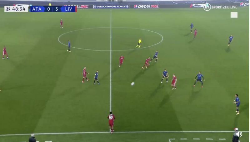 (Video) Look at the unreal throw-in that led to Liverpool's fourth goal