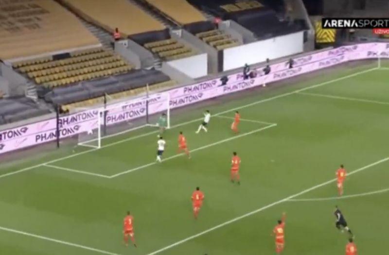 (Video) Curtis Jones scored this lovely goal in England U21 MOTM performance