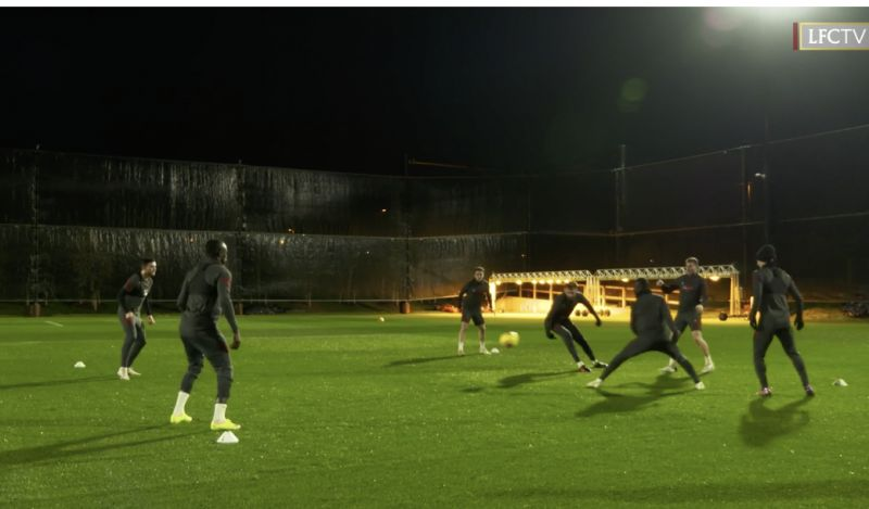 (Video) Milner lays down the law in Kirkby training: 'We've been arguing about this for years…'